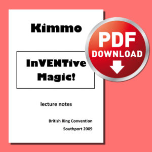 Inventive Magic (Digital Download) by KIMMO